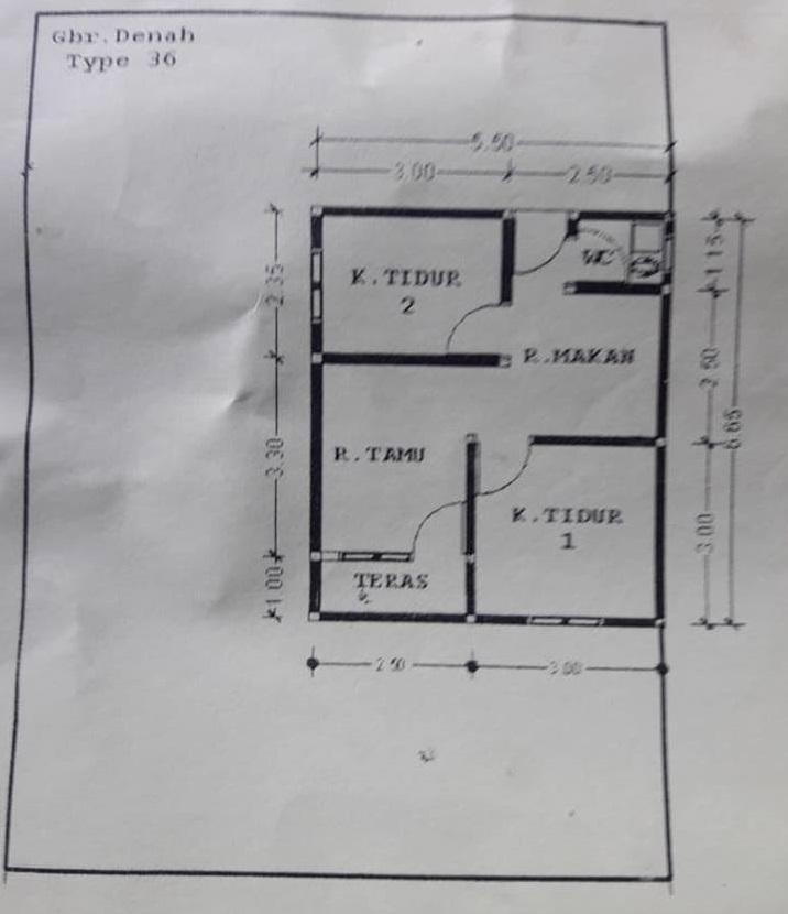 Rumah Subsidi Griya Sejahtera Kecipir Jual Rumah Btn Palangkaraya Harga Rumah Tipe 36 Palangkaraya Kredit Rumah Murah Palangkaraya