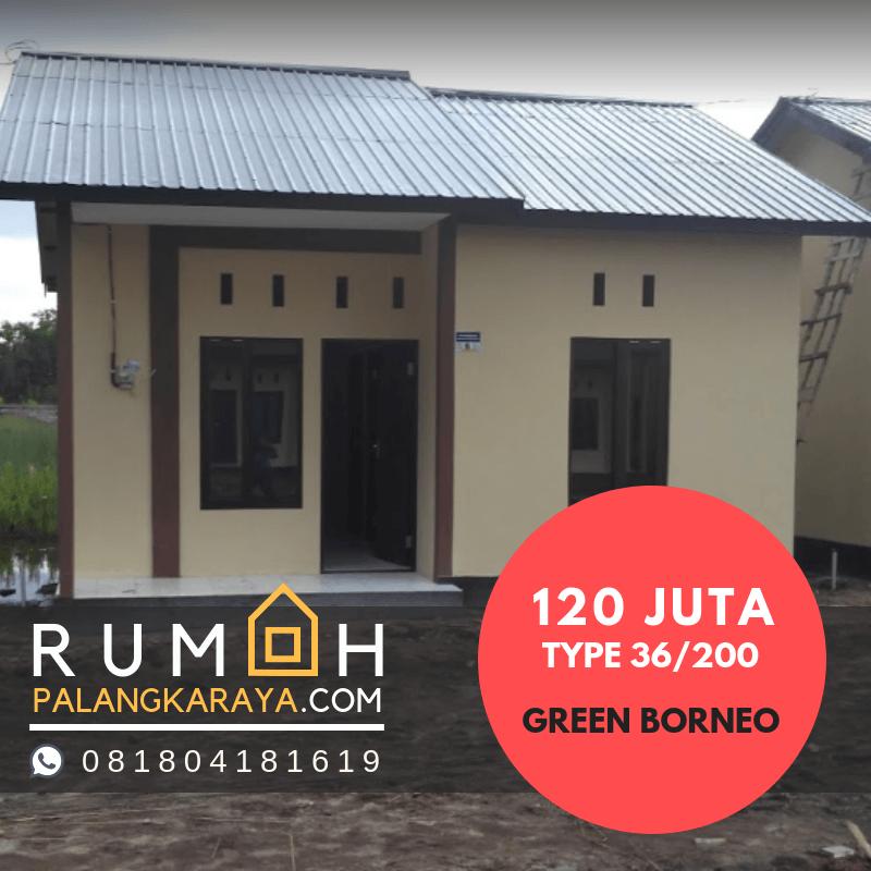 Harga  100 Juta 200 Juta JUAL Rumah  BTN Palangkaraya