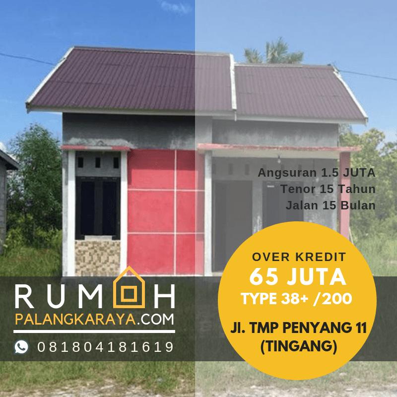 Rumah  Siap Huni JUAL Rumah  BTN Palangkaraya  HARGA  Rumah